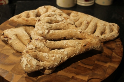 Caramelised Onion & Rosemary Fougasse