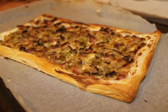 Leek and Bacon Tartlet